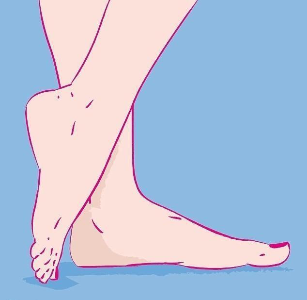 Đoán vận trình tiền tài và nhân duyên thông qua hình dáng bàn chân