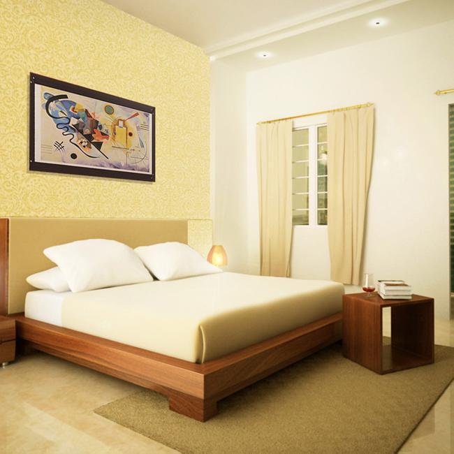 Bí quyết gia tăng vượng khí gia đình nhờ treo tranh phong thuỷ trong phòng ngủ