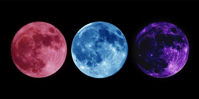 """Một tương lai gần sẽ được """"hé lộ"""" qua những màu sắc của ánh trăng"""