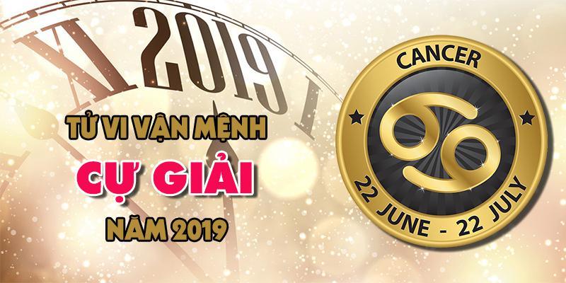 Vận mệnh của chòm sao Cự Giải trong năm 2019