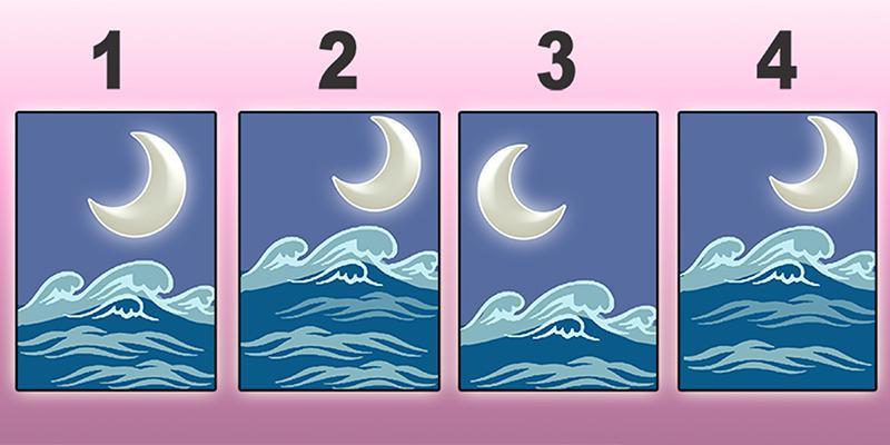 Chọn một bức tranh mặt trăng để nhận thấy điểm mạnh nhất có thể phát huy của bạn
