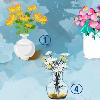 Chọn một bình hoa yêu thích nhất để khám phá ngay 'món quà tinh thần' được gửi đến trong những ngày tới