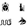 Trắc nghiệm: Chọn biểu tượng Ai Cập và nhận lấy thông điệp dành cho bạn ở hiện tại