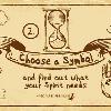 Chọn một biểu tượng giả kim để biết bạn cần gì ngay lúc này