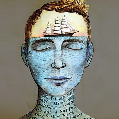 Gương mặt người đàn ông